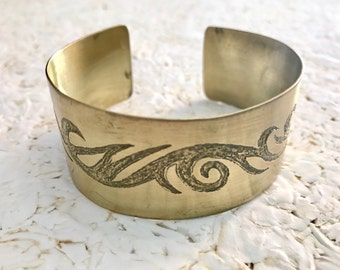 BRACELET BRASS TRIBAL