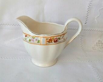 Grindley creamer Cream creamer Milk jug Cream Pitcher Shabby style Shabby creamer Shabby pitcher Kitchen decor country style Server Pitcher