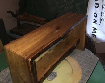 Spalted pecan handmade bench