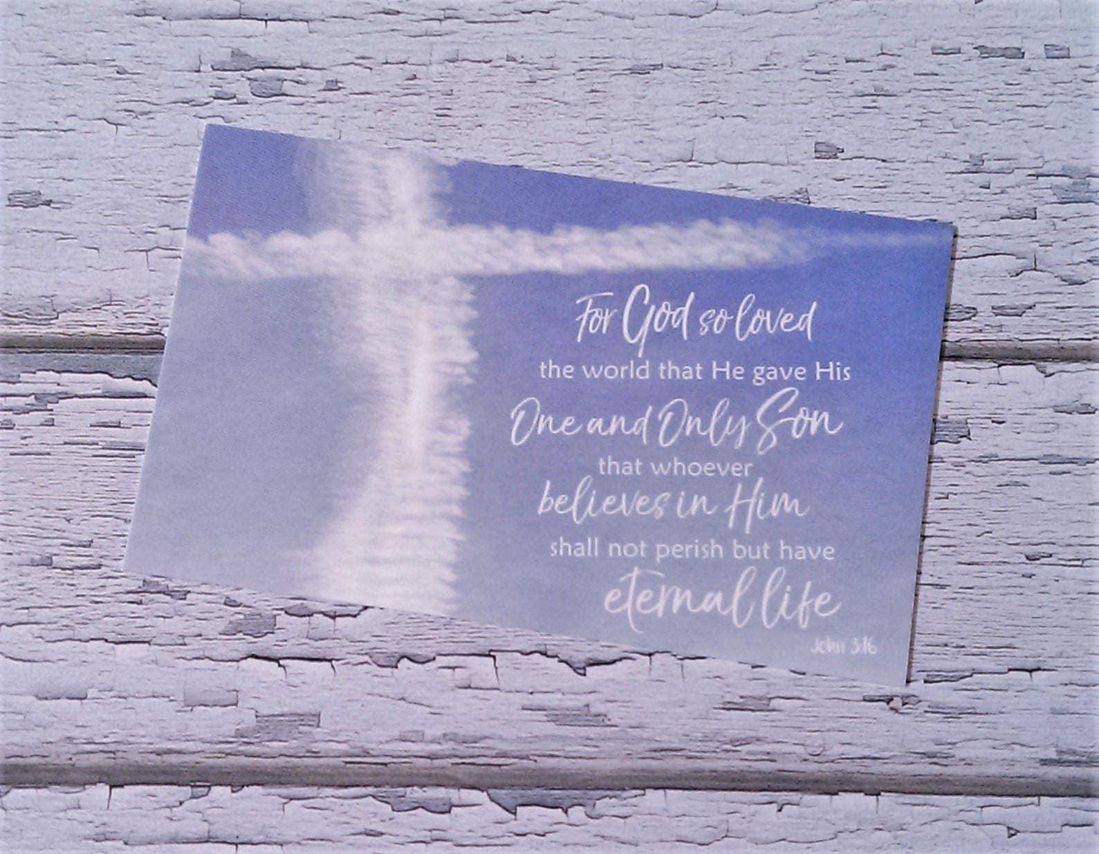 Gospel palm cards set bible verse memory christian easter cross gospel palm cards set bible verse memory christian easter cross gods love scripture negle Choice Image