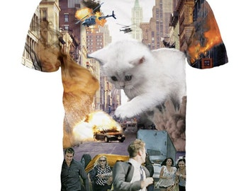 Giant kitty T-shirt