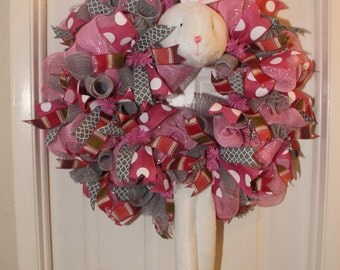 Easter/Spring Bunny Wreath