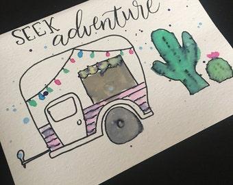 Seek adventure card