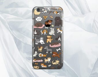 dog case iPhone 7 iPhone 7 Plus case case Samsung S6 Samsung S7 Edge case animals cute iPhone 6 case Samsung Note 5 case iPod Touch 6 case