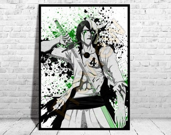 Ulquiorra Cifer, Bleach Anime, Anime Poster, Top Quality Poster, Anime Watercolor, Watercolor Print, Buy 2 get 3rd FREE, AG30