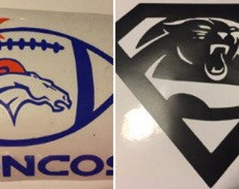 NFL decals choose your team and colors