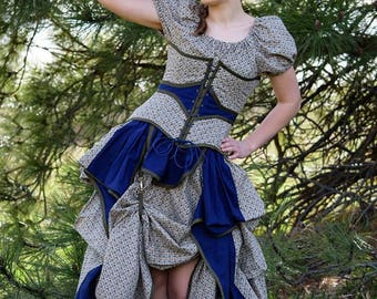 Steampunk Woman's Dress