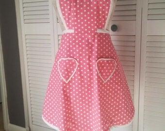 Vintage look apron