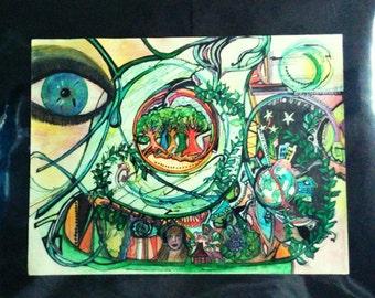 LSD Painting