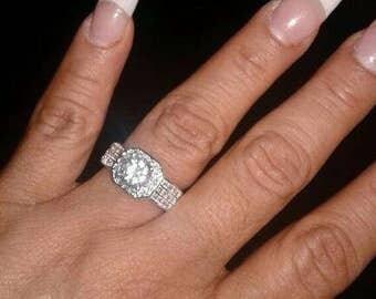 Wedding ring size  8