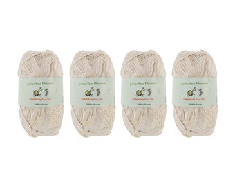Soft Bamboo Tencel Fine Yarn - 4/08 Skeins - 09 Beloved Pearl