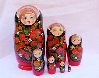 Russian nesting doll - matryoshka, doll, Russian doll, Nested doll