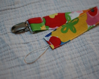 Soother Clip, Floral
