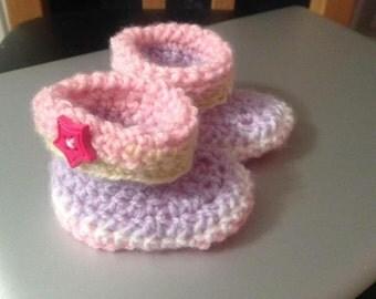 Handmade Newborn Baby booties