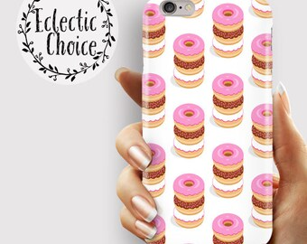 Doughnut Tower iPhone 6s case, iPhone 7 Plus case, iPhone 6 case, 5s, 5c, kawaii case , pastel , pink , food , doughnuts , simpsons