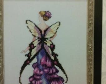 New Snapdragon - Mirabilia Cross Stitch Pattern/Beads Pixie Blossom by Nora Corbett