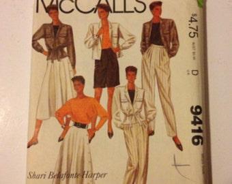 Mc Calls sewing pattern
