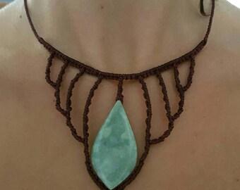 jade chandelier necklace