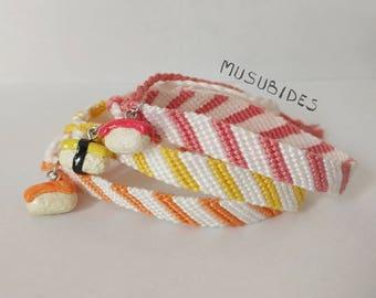 Sushi Musubi Bracelet with Charm