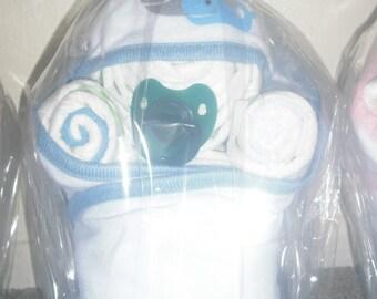 Baby Diaper Gifts- Baby Boy Diaper Bundle