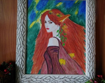 Original watercolor. ADA of forests