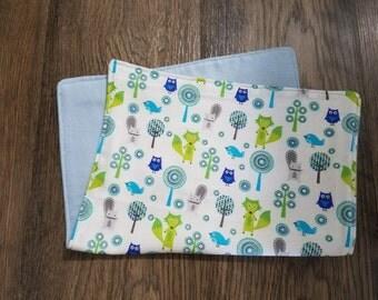 Animals Super Soft Baby Burp Cloths