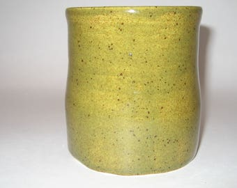 Hand Thrown Pottery Tumbler/Coffee Cup