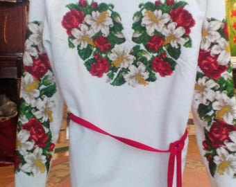 Embroidery beading
