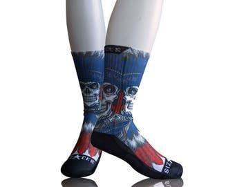 Handmade Sublimated Socks style Apache 2