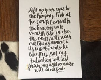 Isaiah 51:6