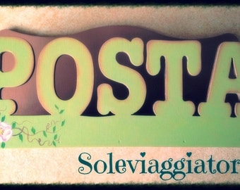 Countertop postmen or hang on the wall