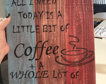 Rustic Coffee w/Jesus