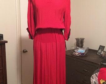 1940 Rayon dress