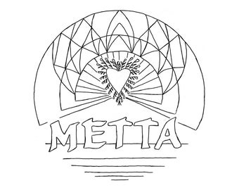 "Coloring page ""Metta"""