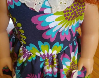 18inch Doll Flower Sun Dress