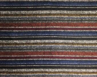 Italien Woolen Fabric / Tissu de laine - Stripe/ Rayures