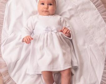 christening blanket, baptism towel, christening gift, custom baby gift, white baby blanket, baptism gift, blanket for baby, personalized
