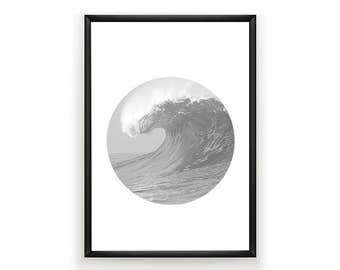 Beach Photo, Surf Photography, Summer Art, Ocean Poster, Surf Poster, Beach Photography, California Photo, Summer Decor, Beach Poster, Surf