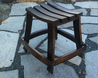 Barrel Stave Stool
