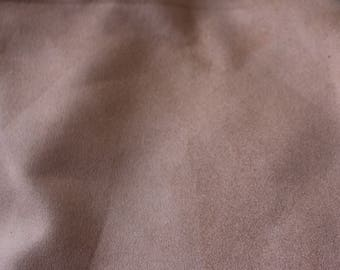 17 Brownish Copper Fake Suede Upholstery Fabric