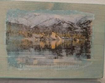 Lake Tahoe reflection