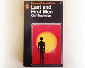 Olaf Stapledon - Last and First Men - Penguin science fiction vintage paperback book - 1966
