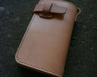 Wallet,Handmade Leather,Middle Wallet,Man Wallet,vegtan leather,Gift