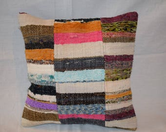 cushion cover full color kilim pillow home decorating kilim pillow striped rug pillow sofa pillow bed pillow place pillow