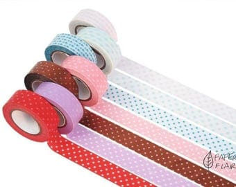 Washi tape paper tape points dots
