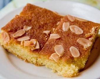 Coconut Yogurt Semolina Cake