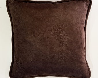 Brown Pillow Cover, Pillow Cover 16x16 inch, Throw Pillow Covers, Decorative Pillow Case, Accent Pillow Cover, Modern Home Decor Gift