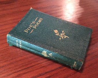 Rare Book: Poe's Poems published by M. A. Donohue & Co