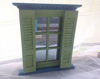 Jewelry Display with Shutters