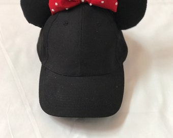 Disney ears- minnie mouse hat